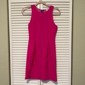Everly hot pink sheath dress